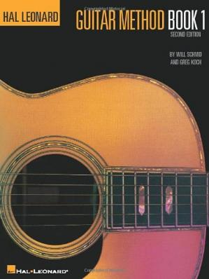 Copertina Hal Leonard Guitar Method. Book 1