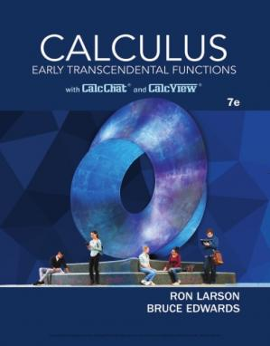 Copertina Calculus: Early Transcendental Functions, 7th Edition