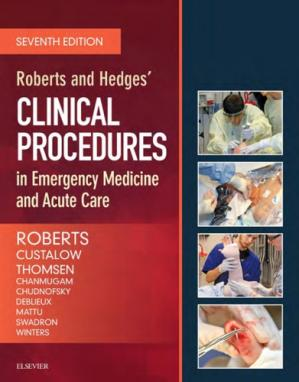 Book cover Roberts and Hedges' Clinical Procedures in Emergency Medicine and Acute Care