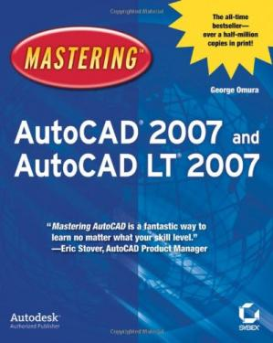 Book cover Mastering AutoCAD 2007 and AutoCAD LT2007