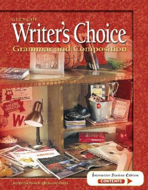 Book cover Writer's Choice Grammar and Composition (Grade 10)