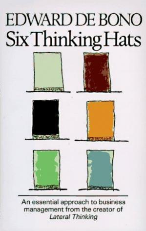 Book cover Six Thinking Hats