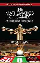 पुस्तक कवर The Mathematics of Games: An Introduction to Probability