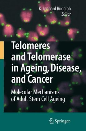 Okładka książki Telomeres and Telomerase in Aging, Disease, and Cancer: Molecular Mechanisms of Adult Stem Cell Ageing
