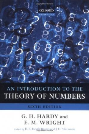 Εξώφυλλο βιβλίου An Introduction to the Theory of Numbers