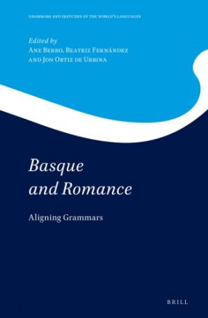 Book cover Basque and Romance: Aligning Grammars