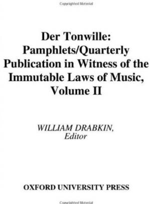 Okładka książki Der Tonwille: Pamphlets in Witness of the Immutable Laws of Music Volume II