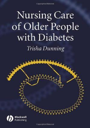 La couverture du livre Nursing Care of Older People with Diabetes