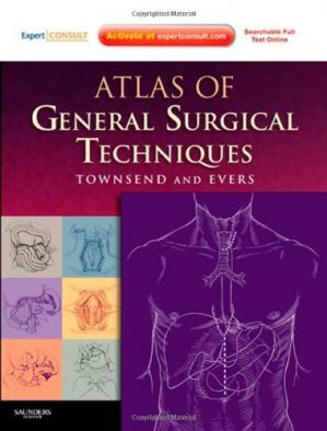 Book cover Atlas of General Surgical Techniques