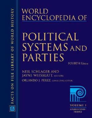 Copertina World Encyclopedia of Political Systems And Parties  3 Volume set , 4th Edition