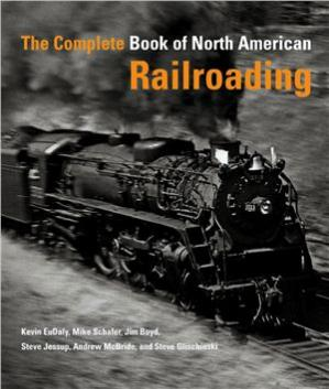 Book cover The Complete Book of North American Railroading
