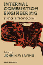 Book cover Internal Combustion Engineering: Science & Technology