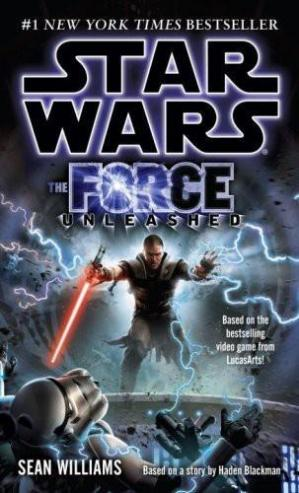 Book cover The Force Unleashed