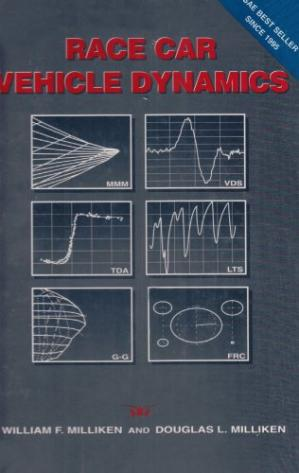 Book cover Race Car Vehicle Dynamics