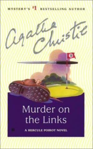 Book cover The Murder on the Links