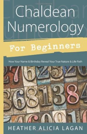 书籍封面 Chaldean Numerology for Beginners