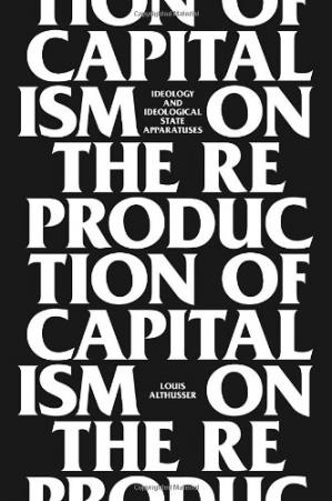 Sampul buku On The Reproduction Of Capitalism: Ideology And Ideological State Apparatuses