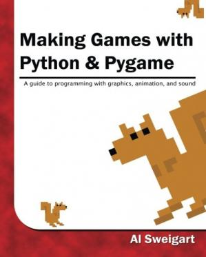Book cover Making Games with Python & Pygame