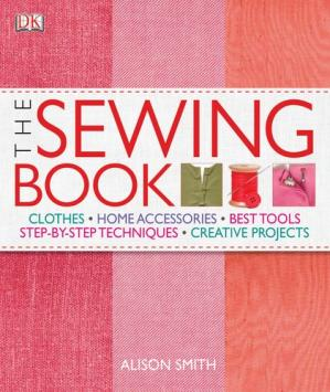A capa do livro The Sewing Book: An Encyclopedic Resource of Step-by-Step Techniques