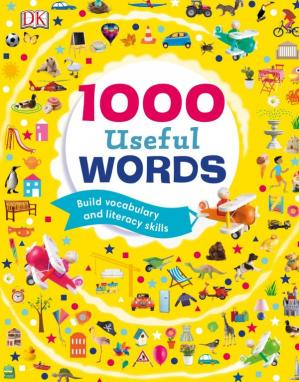A capa do livro 1000 Useful Words: Build Vocabulary and Literacy Skills