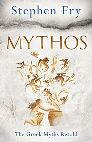 Book cover Mythos: A Retelling of the Myths of Ancient Greece