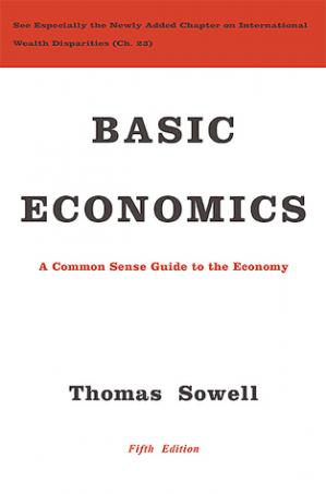 Book cover Basic Economics: A Common Sense Guide to the Economy