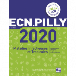 Book cover ECN Pilly 2020 : maladies infectieuses et tropicales