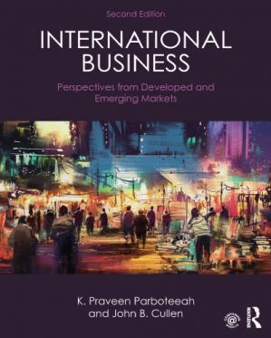 Book cover International Business: Perspectives from Developed and Emerging Markets