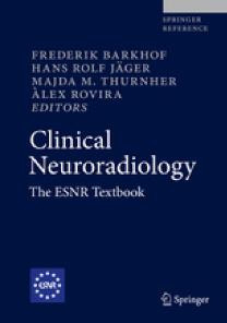 A capa do livro Clinical Neuroradiology