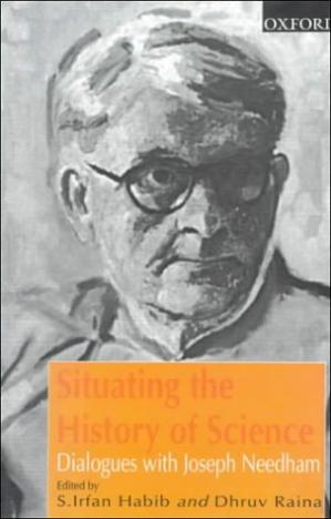 Book cover Situating the History of Science: Dialogues with Joseph Needham