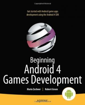 Book cover Beginning Android 4 Games Development