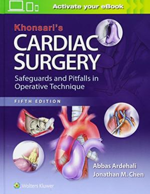 Book cover Khonsari's Cardiac Surgery: Safeguards and Pitfalls in Operative Technique