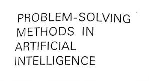 Book cover Problem solving methods in artificial intelligence