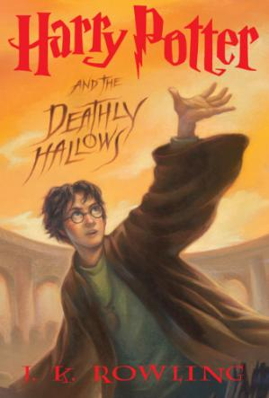 Book cover Harry Potter & the Deathly Hallows