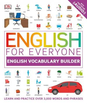 A capa do livro English for Everyone - English Vocabulary Builder