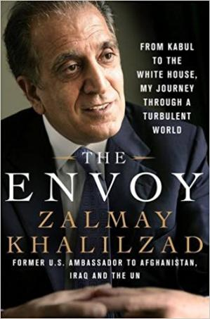 Portada del libro The Envoy: From Kabul to the White House, My Journey Through a Turbulent World
