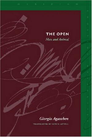 Buchdeckel The Open: Man and Animal