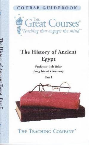 Buchdeckel The History of Ancient Egypt