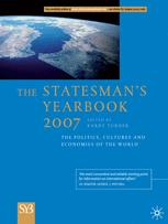 Copertina The Statesman's Yearbook 2007: The Politics, Cultures and Economies of the World