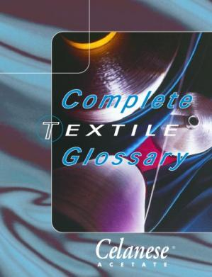 पुस्तक कवर complete Textile Glossary