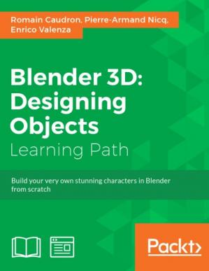 Book cover Blender 3D : designing objects : Learning Path