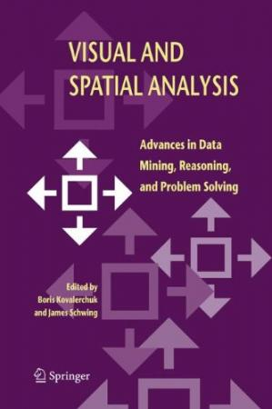 पुस्तक कवर Visual and spatial analysis : advances in data mining reasoning, and problem solving