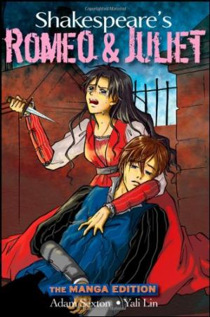 Book cover Shakespeare's Romeo and Juliet the manga edition