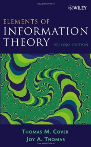 Book cover Elements of Information Theory