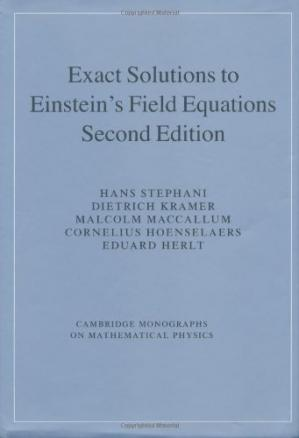Okładka książki Exact solutions of Einstein's field equations