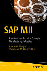 Copertina SAP MII : Functional and Technical Concepts in Manufacturing Industries