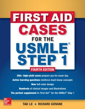 Book cover First Aid Cases For The USMLE Step 1