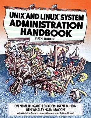Book cover UNIX and Linux System Administration Handbook