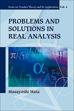 A capa do livro Problems and Solutions in Real Analysis