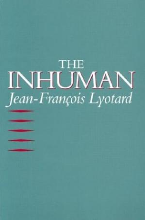 Book cover The Inhuman: Reflections on Time